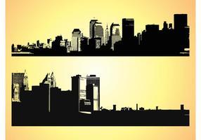 Große Städte Vektoren