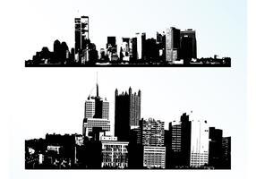 Vektor städer
