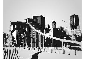 Graphique vectoriel urbain