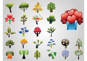 Fantasi träddesigner