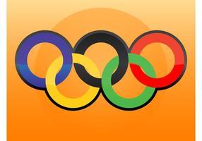 Olympischen Logo Vektor