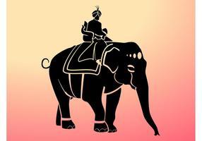 Silueta de Maharaja