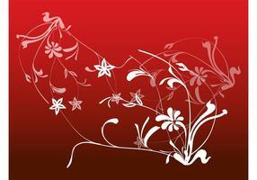 Decorações florais de flores