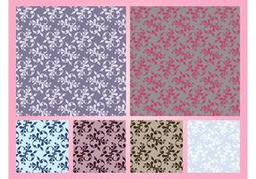 Graphiques vectoriels motifs floraux