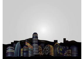 Skyline da cidade grande