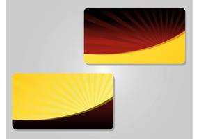 Gift Card Vectors  Membership Cards Templates