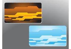 Abstract Shapes Business Cards