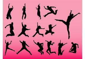 Jumping People Vectors