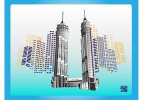 Dubai Skyskrapor