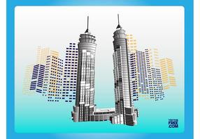 Dubai Wolkenkrabbers
