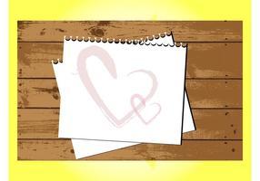 Love Letter On Wood