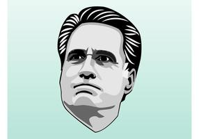 Mitt Romney Portrait