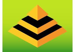 Abstrakt pyramid