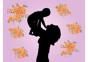 Mother And Child Graphics