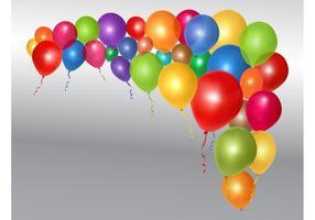 Shiny Vector Balloons