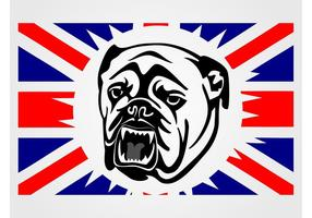 UK Bulldog Vector