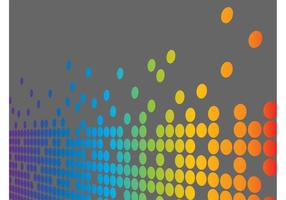 Dotted Rainbow Vector