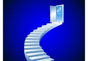 Stairway To Heaven Vector