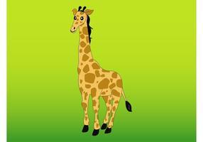 Vector de girafe