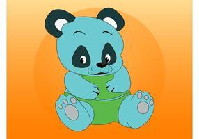 Panda coloré