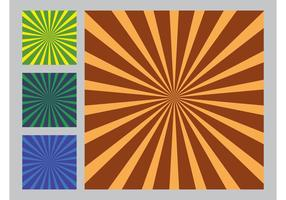 Rays Vector Backgrounds