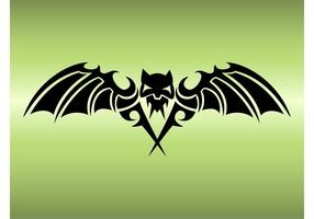 Bat Tattoo Design