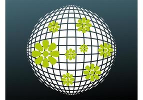Floral-disco-vector