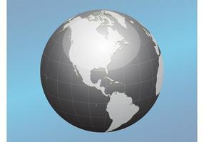 Ícone do vetor do globo