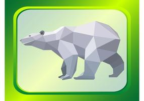 Vecteur d'ours polaire