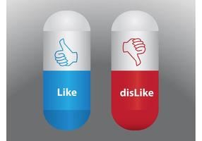 Like Dislike Pills