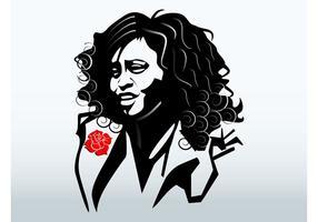 Whitney Houston Portrait