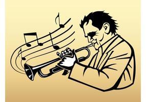Trumpet-player-vector