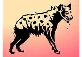 Vecteur hyène
