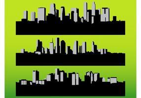 Vetores das paisagens urbanas