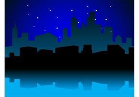 Vecteur de nuit urbaine