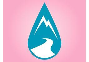 Mountain Drop Icon