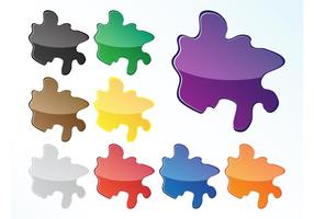 Colorful Splash Icons
