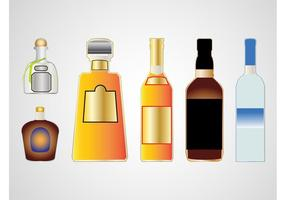 Botellas de licor