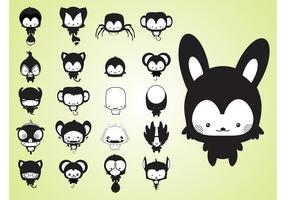 Cute Cartoon Creatures