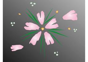 Blooming Flower Vector