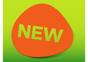 Ny produktklistermärke