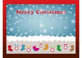 Weihnachtsstrumpfkarte