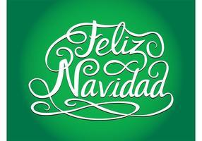 Saudações de Natal espanhol