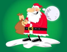 Santa-caricature