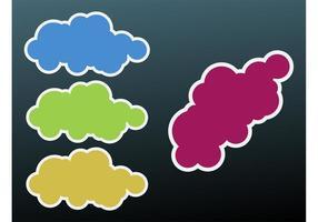Icônes de nuages
