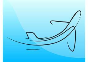 Flugzeug-Symbol