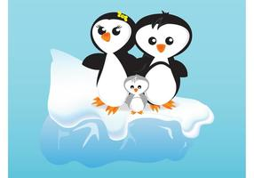 Cartoon-Pinguine