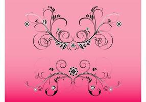 Floral Swirls Footage