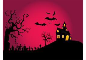 Halloween-Nachtentwurf