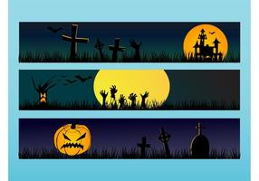 Bannières de Halloween